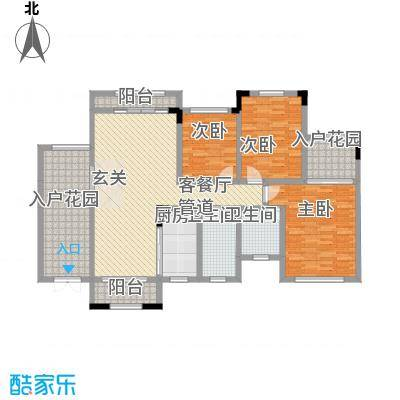 宝香居71.00㎡户型2室