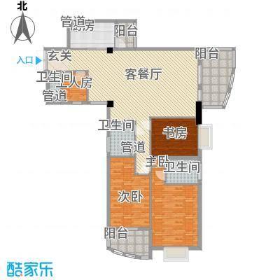 玉滨城三期A座16层A7单元户型