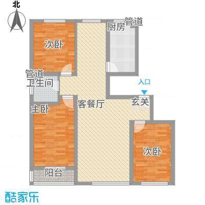 东八里洼单位宿舍7.00㎡户型3室