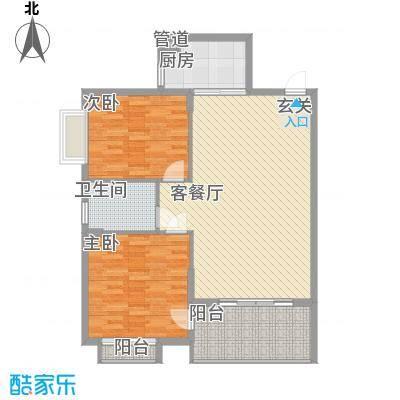 杏林大唐世家113.00㎡户型3室