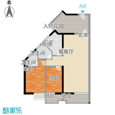 禹洲环东国际15.00㎡8#、9#楼05、06单元户型3室2厅2卫1厨