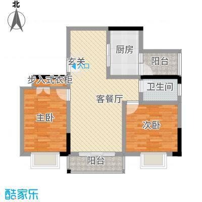 千佛山西路房地产宿舍78.00㎡户型2室