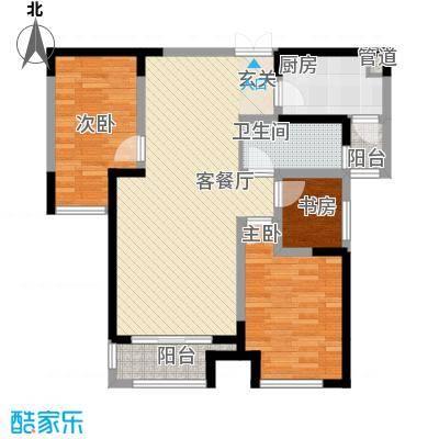 信达之家3居户型