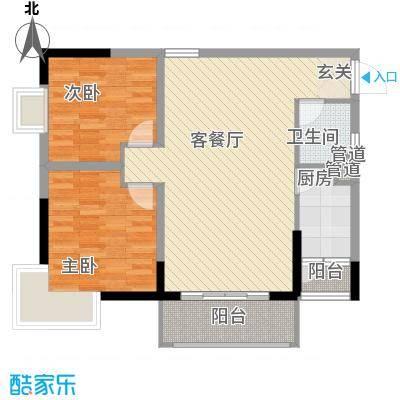 钨业宿舍154538595736799户型2室2厅