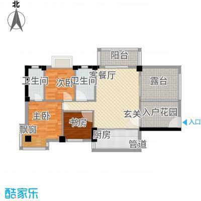 金岸领寓b_73014560户型