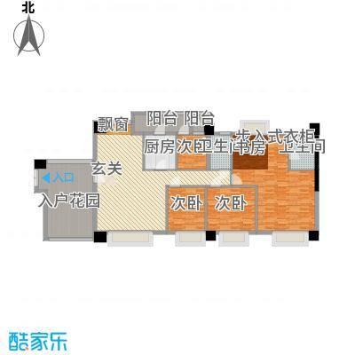 名店国际公寓5.00㎡户型4室
