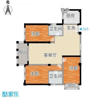 我爱莲花7户型3室2厅2卫1厨