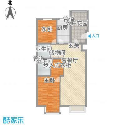 鸿福新村户型1室1厅1卫1厨