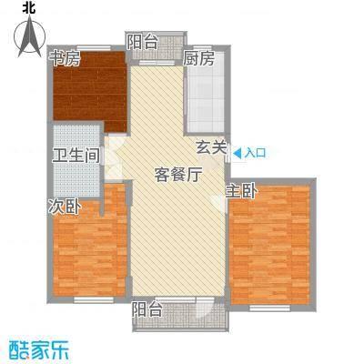 春茂花苑户型3室