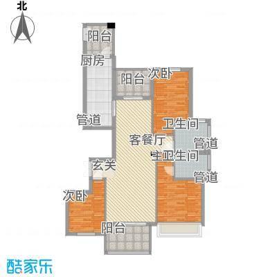 敬贤公园12931550464d13fae6c44d8户型3室2厅