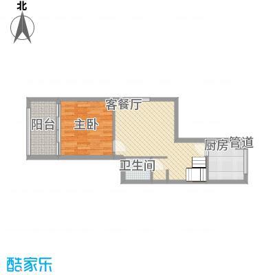 龙湖MOCO中心11户型1室2厅1卫1厨