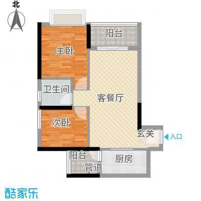 东渡邮局宿舍396395户型2室2厅2卫1厨