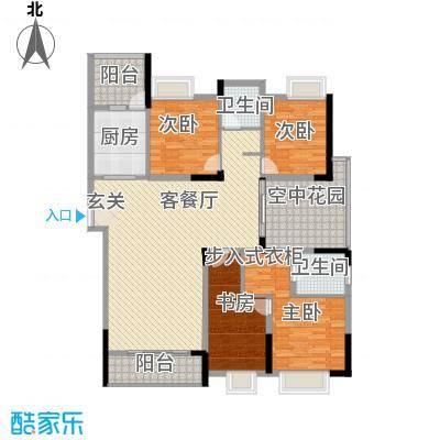 邮电综合楼2011050423291520户型4室2厅2卫1厨