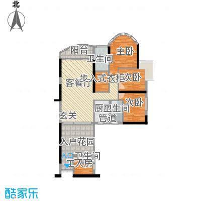 思明农行宿舍396423户型2厅1卫1厨