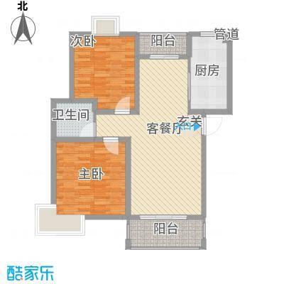 曲江汇景新都户型2室