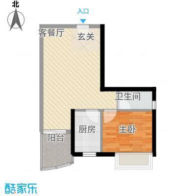 彩云居58.55㎡深圳1户型