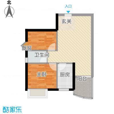 彩云居68.32㎡深圳6户型