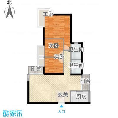 彩云居115.25㎡深圳4户型
