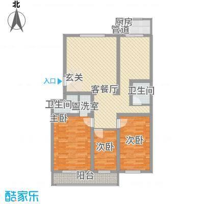 丰硕苑12.70㎡户型