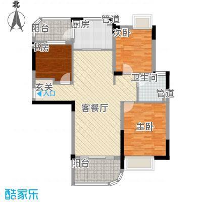 碧桂园凰城J476C户型