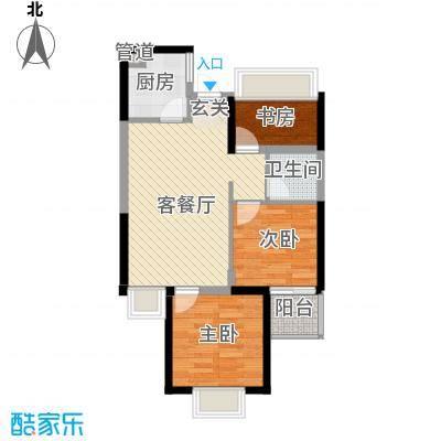 工人新村户型2室