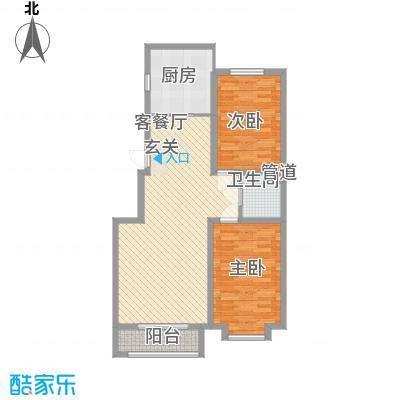 融和尊邸114.00㎡户型2室
