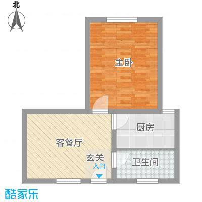 新领地62.70㎡上海户型