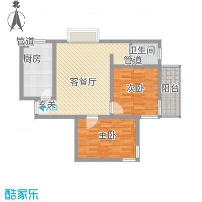 东福嘉苑6.68㎡太原户型