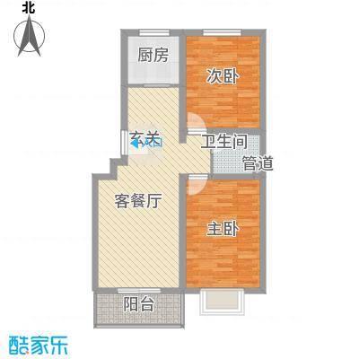 东福嘉苑7.83㎡太原户型