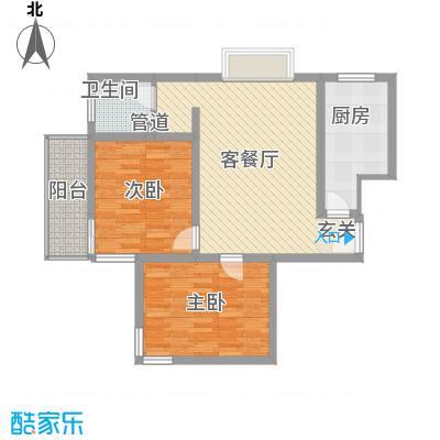 东福嘉苑88.70㎡太原户型
