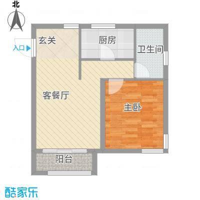 仁桥新村仁�新村户型1室2厅