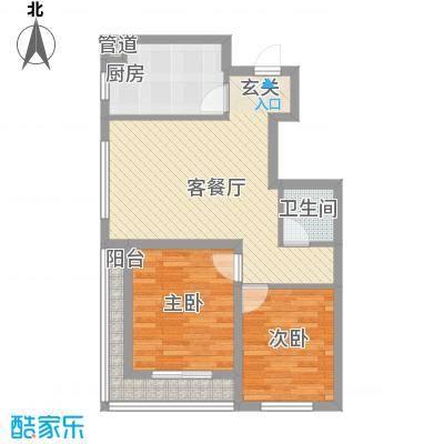 豆仔尾路295号民房2-2-1-1-5户型2室2厅1卫1厨