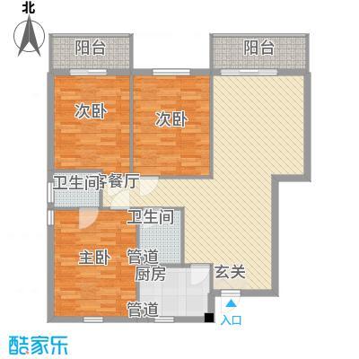 中国银行宿舍115.00㎡户型3室