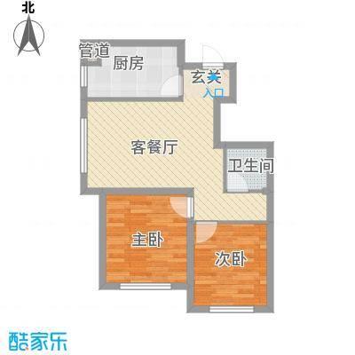 思明农行宿舍2-2-1-1-5户型2室2厅1卫1厨