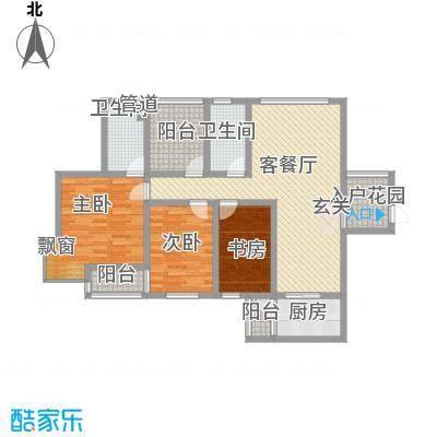 农行宿舍3-2-2-1-5户型3室2厅2卫1厨