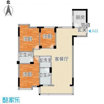 太古生活区39户型3室2厅2卫1厨