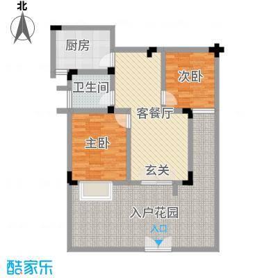 电控大厦2居户型2室1厅1卫1厨