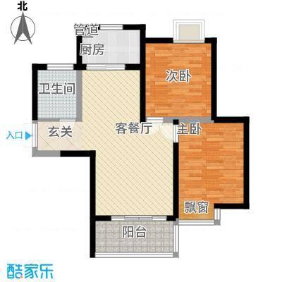 未央区政府家属院户型2室