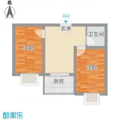 蔺高佳苑58.00㎡A4户型