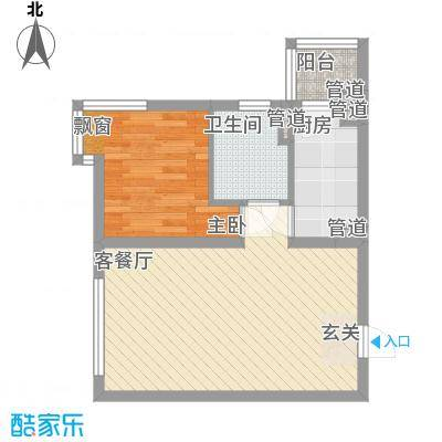 未央区政府家属院户型1室