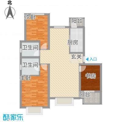石家庄饮食公司宿舍户型3室