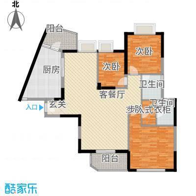 南城路楼群户型3室