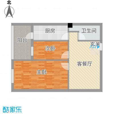 蓝山国际公寓8.00㎡户型