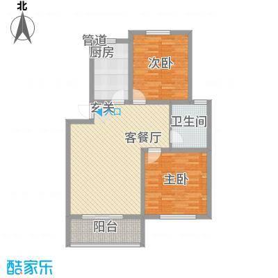 天润花苑二期113.30㎡户型