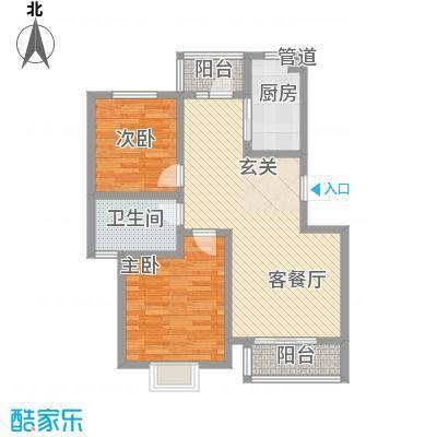 厦商物流宿舍2户型