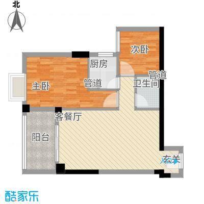 金岸领寓a_73014533户型