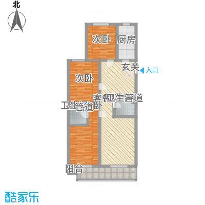 观庭J户型3室