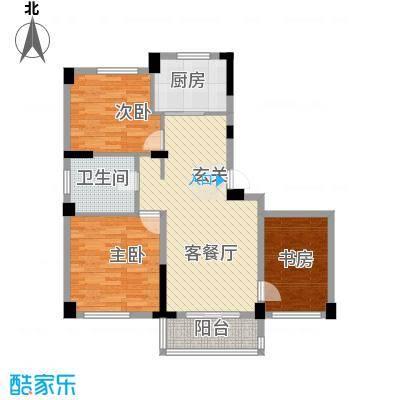 元都新苑户型2室