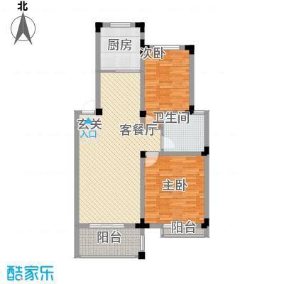 康乐新村6.00㎡户型2室