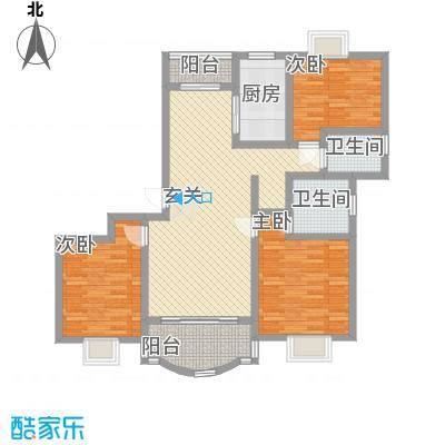 明丰阳光苑131.31㎡上海户型